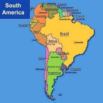 3. АМЕРИКА Южная